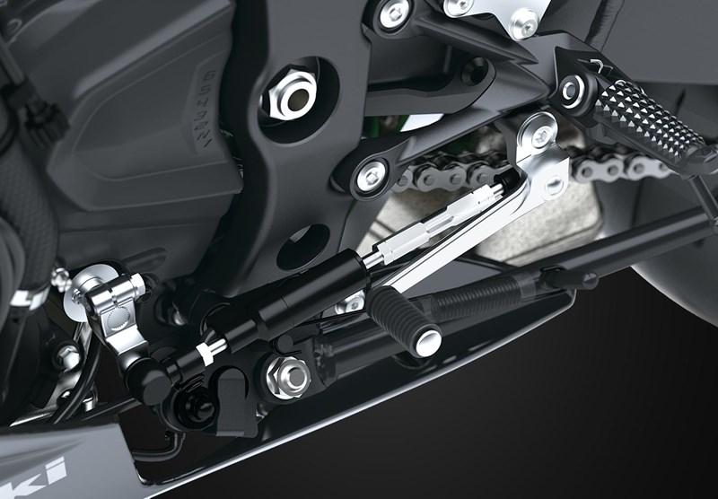 Sistema de cambio rápido Kawasaki