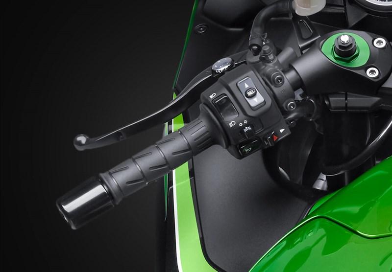 Control de tracción Kawasaki
