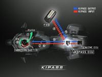Diagrama del sistema de arranque de activación inteligente de proximidad de Kawasaki