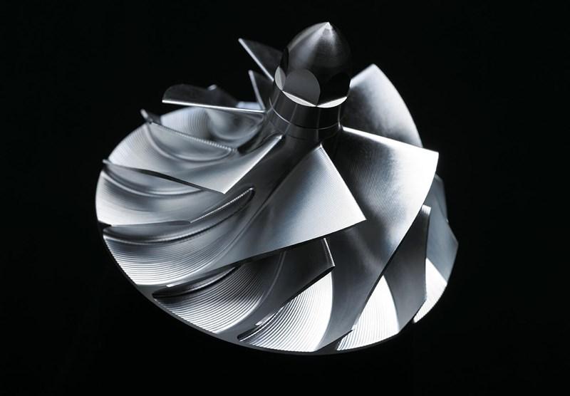 Impulsor de aluminio forjado