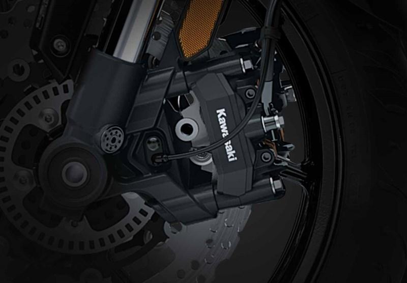 Sistema de frenos antibloqueo inteligente Kawasaki